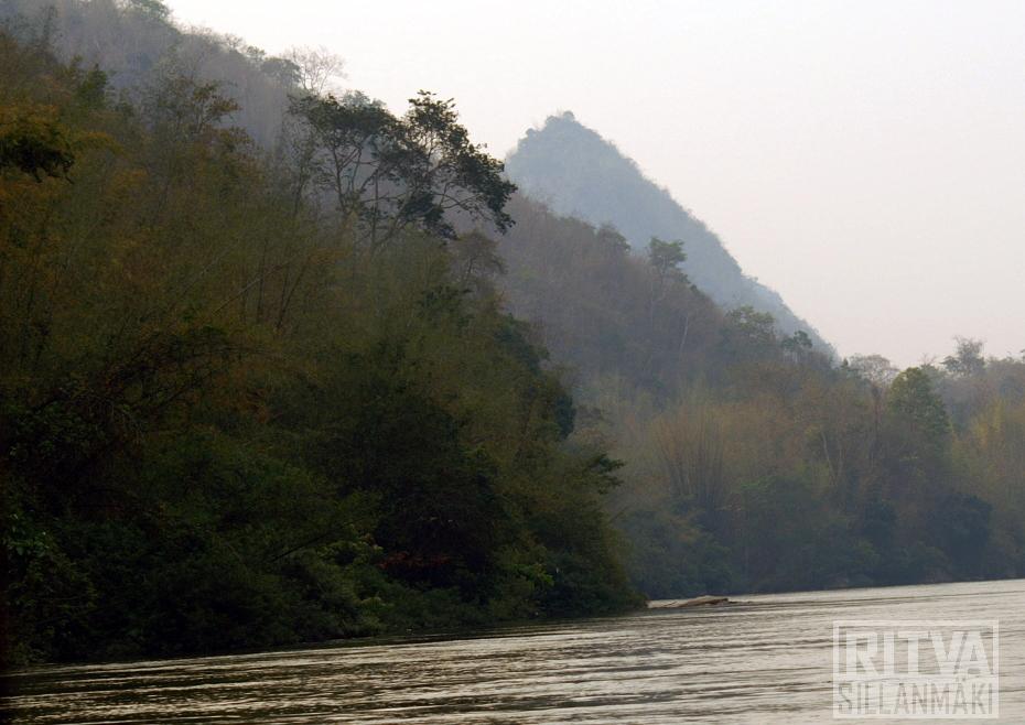 Kwai river landscape
