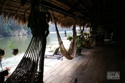 The river Kwai jungle rafts