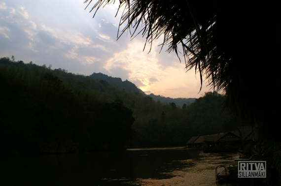 Sunset at Kwai River