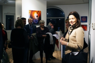 my art exhibition opening !