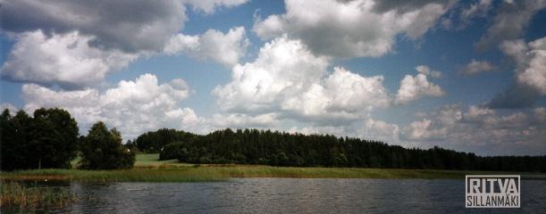 clouds in Ruuhijärvi