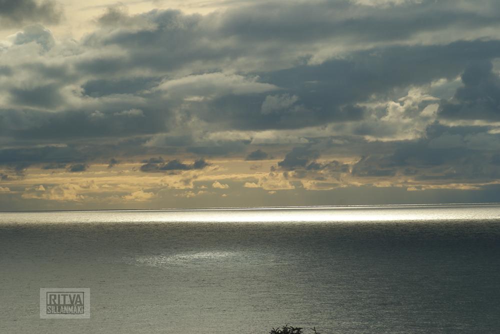 Oregon coastline - one lighthouse-158