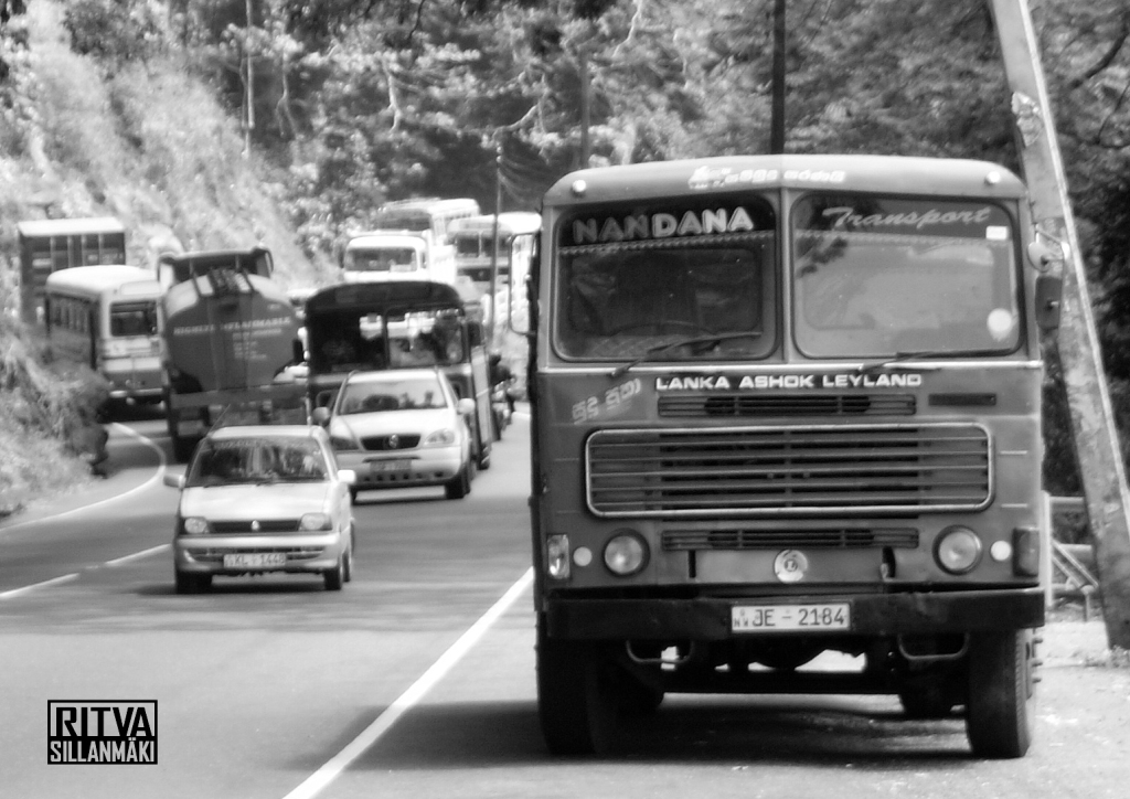 Buses in Sri Lanka