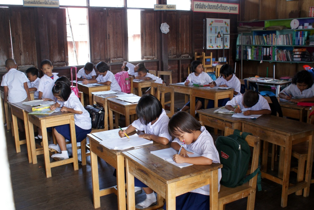 School children In Thailand