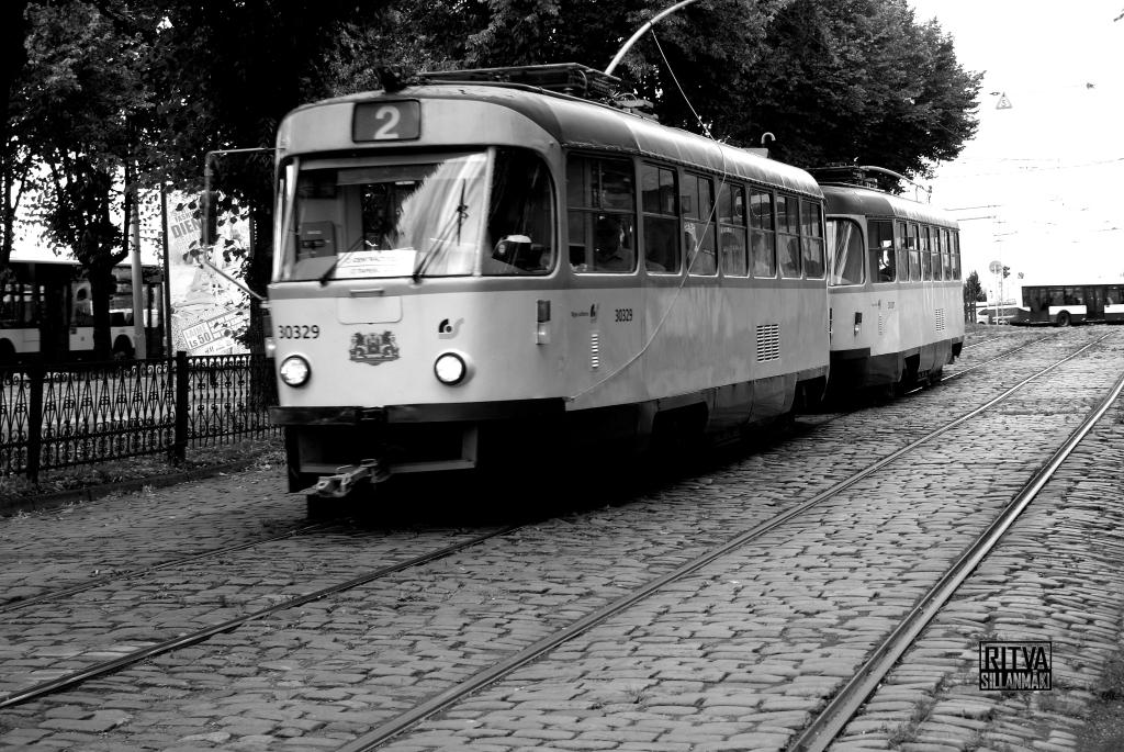 tram in Riga