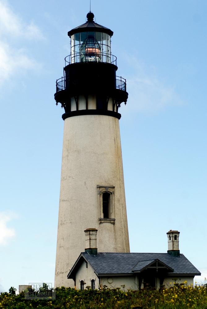 Oregon coastline - one lighthouse-29