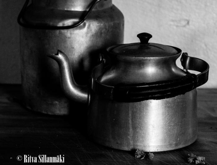 Ritva Sillanmäki -coffeepot- milk cannister