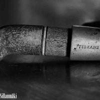 Black and White Wednesday ~ Old Fiskars knife