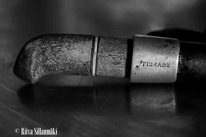 Old Fiskars knife