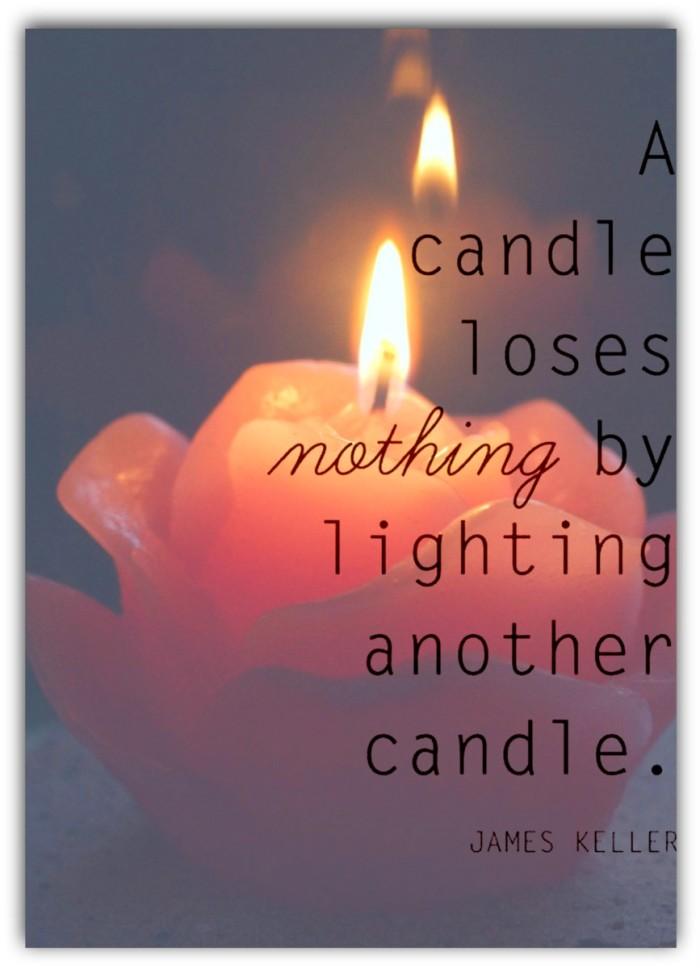 candle / kynttilä org