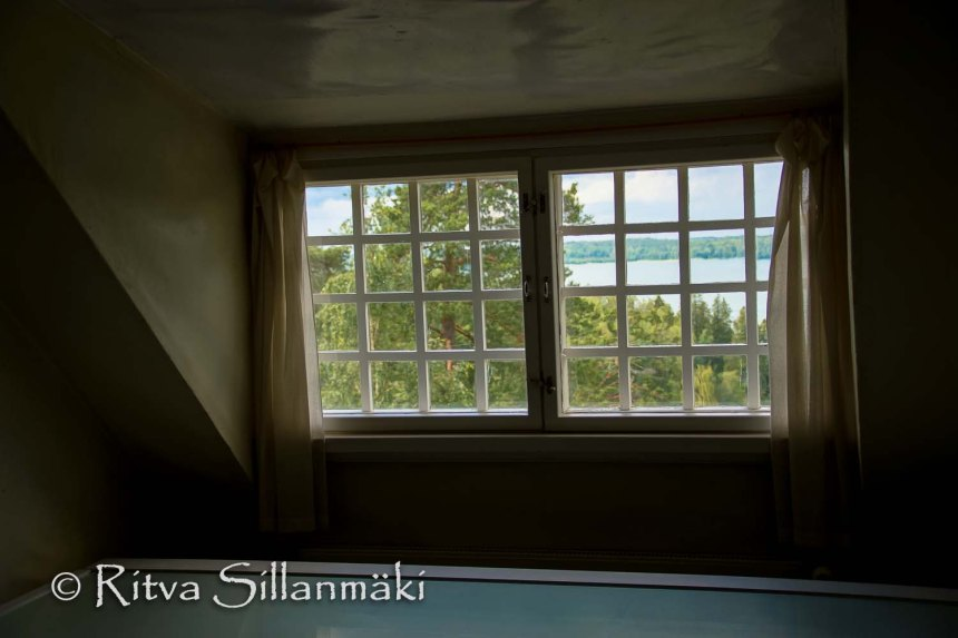 View from the attic