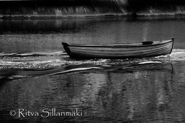Ritva Sillanmäki - rowing boat (1 of 1)