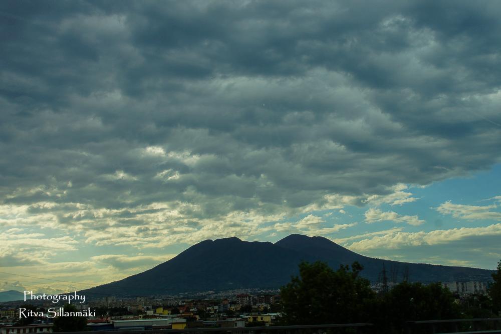 Clouds over Vesuvius