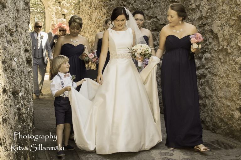 Ravello , here comes the bride