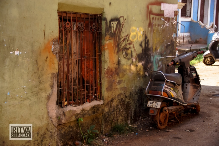 Goa India, Panjim -street life (4)