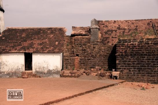 Goa India, Panjim-Portugese fort (18)