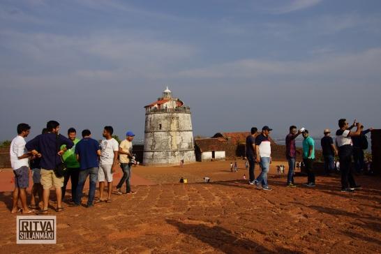 Goa India, Panjim-Portugese fort (19)