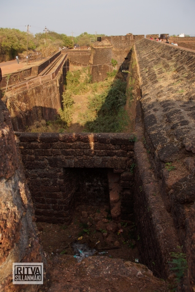 Goa India, Panjim-Portugese fort (24)