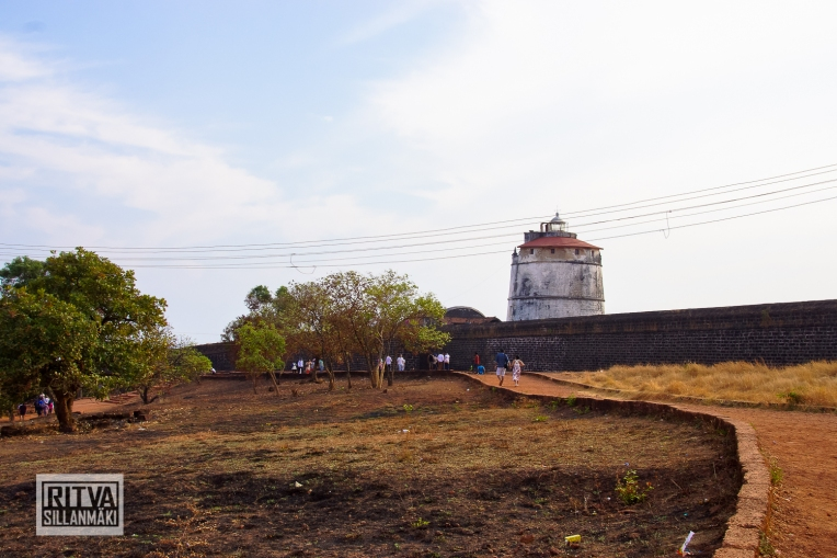 Goa India, Panjim-Portugese fort (27)