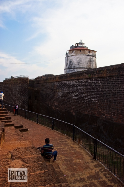 Goa India, Panjim-Portugese fort (4)