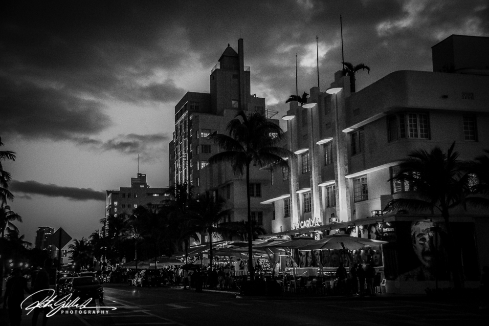 Miami South Beach- BW (2 of 7)