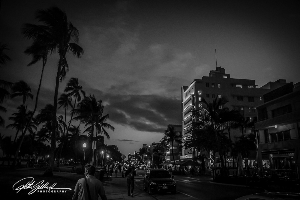 Miami South Beach- BW (3 of 7)
