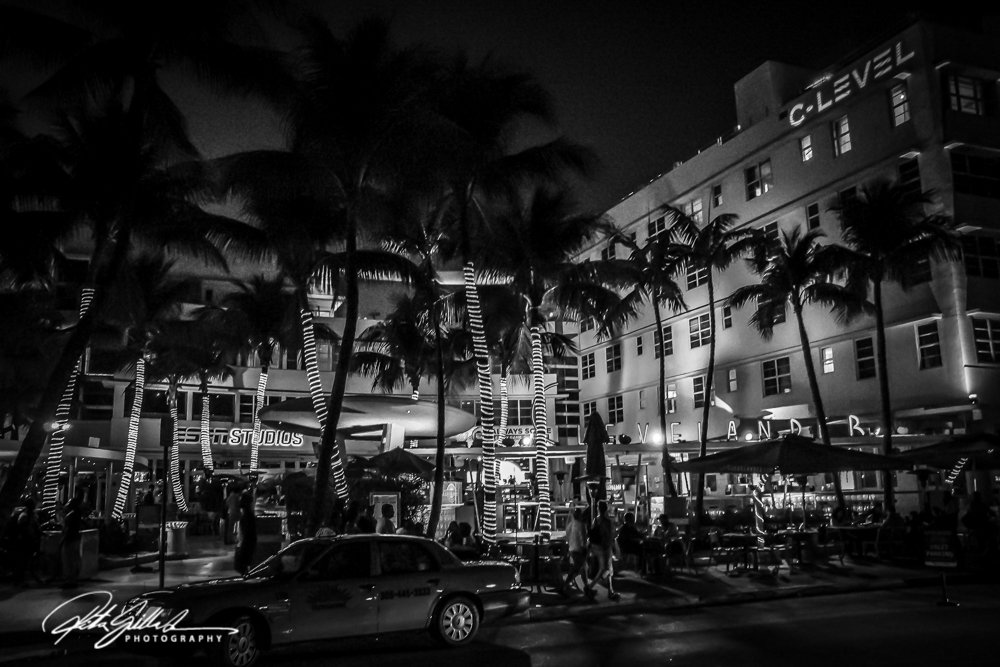 Miami South Beach- BW (4 of 7)