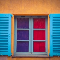 June - Colorful Window