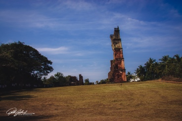 The Ruins of the Church of St. Augustine in Old Goa