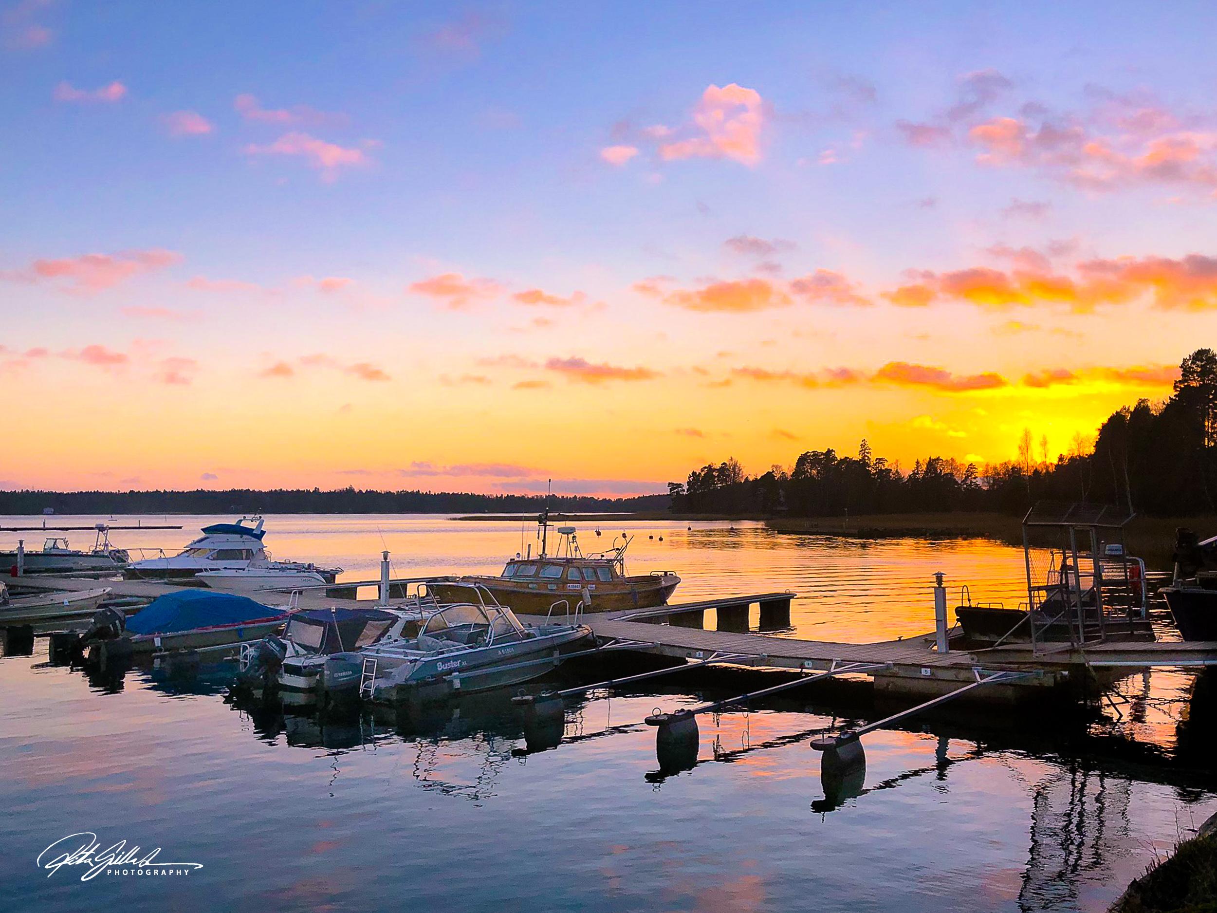 Winter sunset (1 of 7)