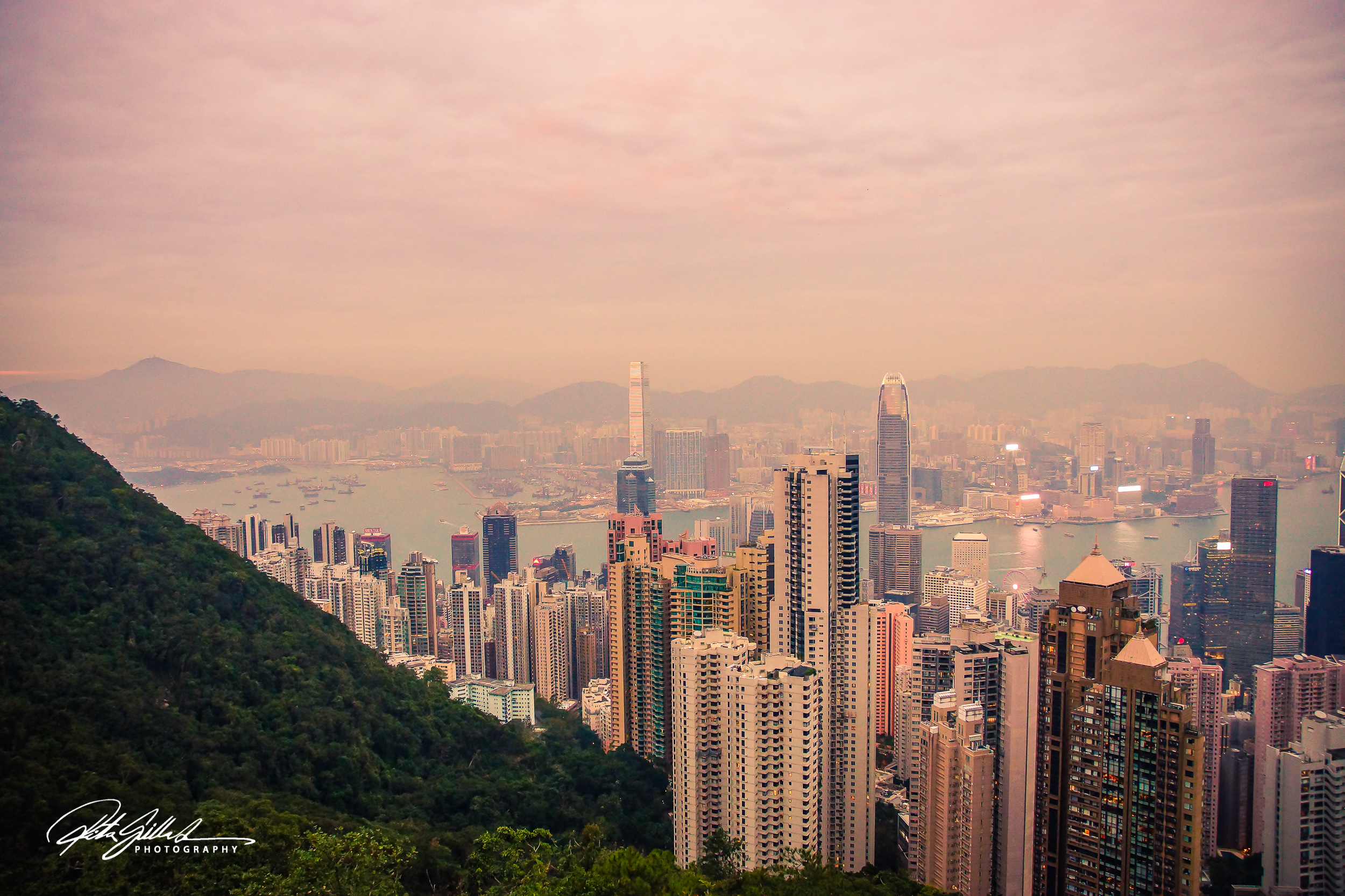 Hong Kong – looking down