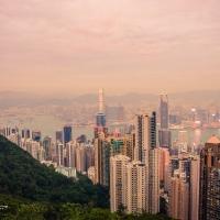 Hong Kong - looking down